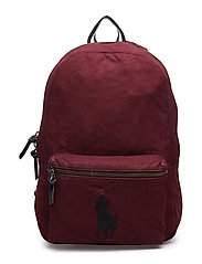 PP EMB BACKPACK - WINE