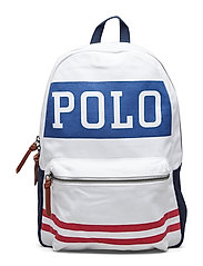 Polo Canvas Backpack - WHITE