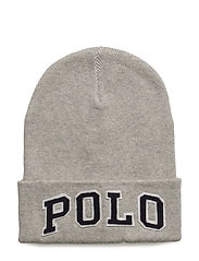 Polo Cotton Hat - FAWN GREY HEATHER
