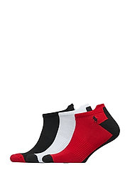 3PK ATHLETIC-ANKLE-3 PACK - POLO BLACK/WHITE/