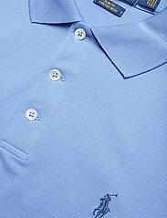 Polo Ralph Lauren - Slim Fit Stretch Mesh Polo - lyhythihaiset - cabana blue - 2