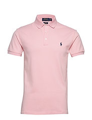 Slim Fit Stretch Mesh Polo - GARDEN PINK/C7998