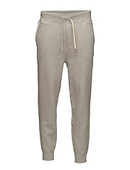 Cotton-Blend-Fleece Jogger - LIGHT SPORT HEATH