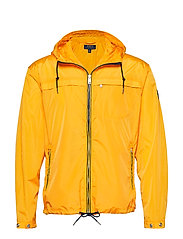 Packable Hooded Jacket - SLICKER YELLOW