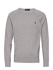 Cotton Spa Terry Sweatshirt - ANDOVER HEATHER