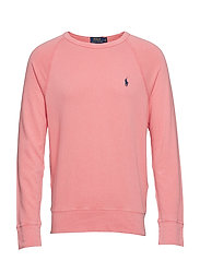 Cotton Spa Terry Sweatshirt - RED SKY