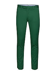 Stretch Slim Fit Chino Pant - BUSH GREEN