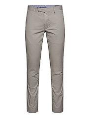 Stretch Slim Fit Chino Pant - GREY FOG