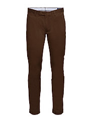 Stretch Slim Fit Chino Pant - MOHICAN BROWN