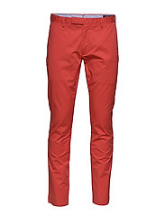 Stretch Slim Fit Chino Pant - SPRING RED
