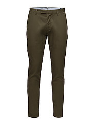 Stretch Tailored Slim Chino - EXPEDITION OLIVE
