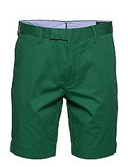 Stretch Slim Fit Chino Short - BUSH GREEN