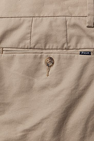 Polo Ralph Lauren - Stretch Slim Fit Chino Short - tailored shorts - classic khaki - 4