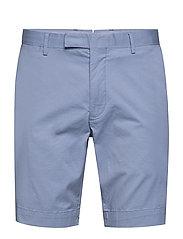 Stretch Slim Fit Chino Short - DRESS SHIRT BLUE
