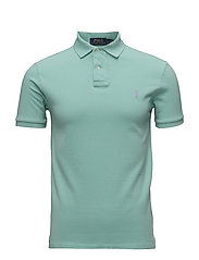 Slim Fit Weather Mesh Polo - BAYSIDE GREEN