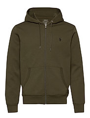 Double-Knit Full-Zip Hoodie - COMPANY OLIVE/C97
