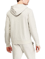 Polo Ralph Lauren - Double-Knit Full-Zip Hoodie - hoodies - lt sport heather - 3