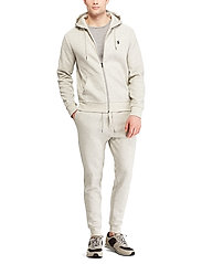 Polo Ralph Lauren - Double-Knit Full-Zip Hoodie - hoodies - lt sport heather - 4