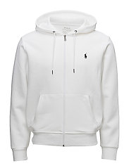 Double-Knit Full-Zip Hoodie - WHITE