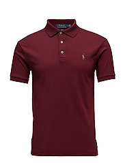 Slim Fit Soft-Touch Polo Shirt - CLASSIC WINE