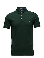 Slim Fit Interlock Polo Shirt - COLLEGE GREEN