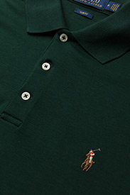Polo Ralph Lauren - Slim Fit Interlock Polo Shirt - short-sleeved polos - college green - 2