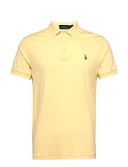 Slim Fit Soft-Touch Polo Shirt - EMPIRE YELLOW