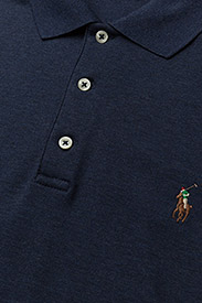 Polo Ralph Lauren - Slim Fit Interlock Polo Shirt - short-sleeved polos - spring navy heath - 2