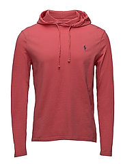 Cotton Jersey Hooded T-Shirt - HYANNIS RED