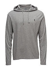 Cotton Jersey Hooded T-Shirt - LEAGUE HEATHER