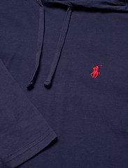 Polo Ralph Lauren - Cotton Jersey Hooded T-Shirt - hoodies - newport navy - 2