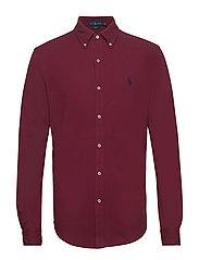 Featherweight Mesh Shirt - CLASSIC WINE
