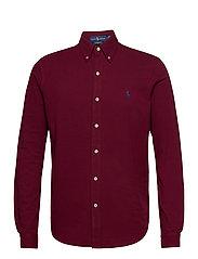 Featherweight Mesh Shirt - CLASSIC WINE/C799