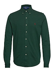 Featherweight Mesh Shirt - COLLEGE GREEN