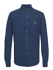 Featherweight Mesh Shirt - DERBY BLUE HEATHE