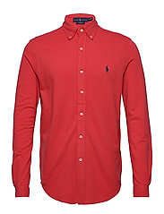Featherweight Mesh Shirt - EVENING POST RED/