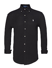Featherweight Mesh Shirt - POLO BLACK