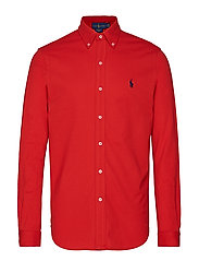 Featherweight Mesh Shirt - POLO SPORT RED/C7