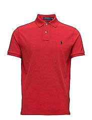 995f0534e Custom Slim Fit Cotton Mesh Polo - RL2000 RED