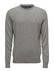 LS CN PP-LONG SLEEVE-SWEATER - FAWN GREY HEATHER