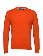 Merino Wool Crewneck Sweater - BITTERSWEET HEATH