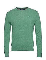 Merino Wool Crewneck Sweater - STUART GREEN HEAT
