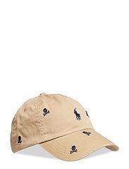 CLSSPRTCAP-HAT - LUXURY TAN W/ SKU