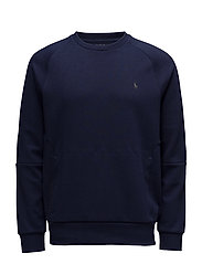 Double-Knit Sweatshirt - FRENCH NAVY