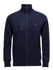 Active Fit Double-Knit Jacket - FRENCH NAVY