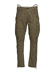 Slim Fit Cargo Pant - BRITISH OLIVE