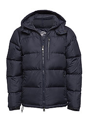 Water-Repellent Down Jacket - AVIATOR NAVY