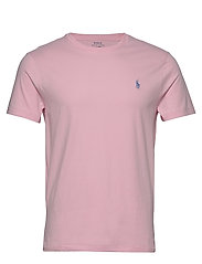 Custom Slim Crewneck T-Shirt - BATH PINK/C7156