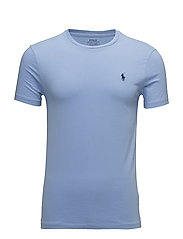 Custom Slim Fit Cotton T-Shirt - BLUE LAGOON