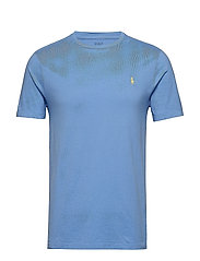 Custom Slim Fit Cotton T-Shirt - CABANA BLUE